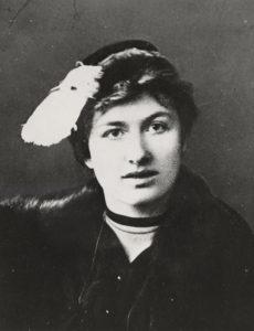 Fotografi av Edith Södergran