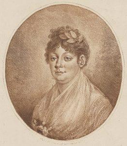 Porträtt av Anna Maria Lenngren