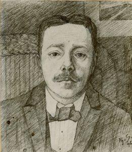 Porträtt av Hjalmar Söderberg