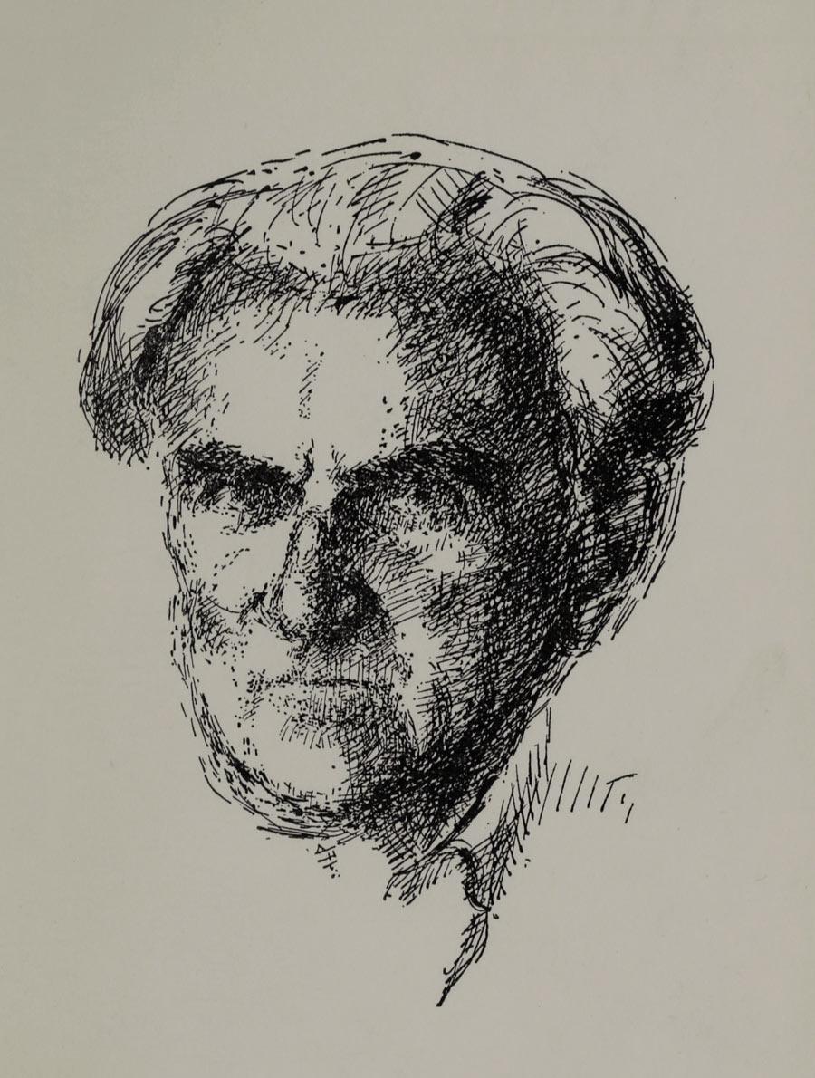 Porträtt av Tage Aurell