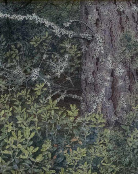 Målning av Gustaf Fjæstad