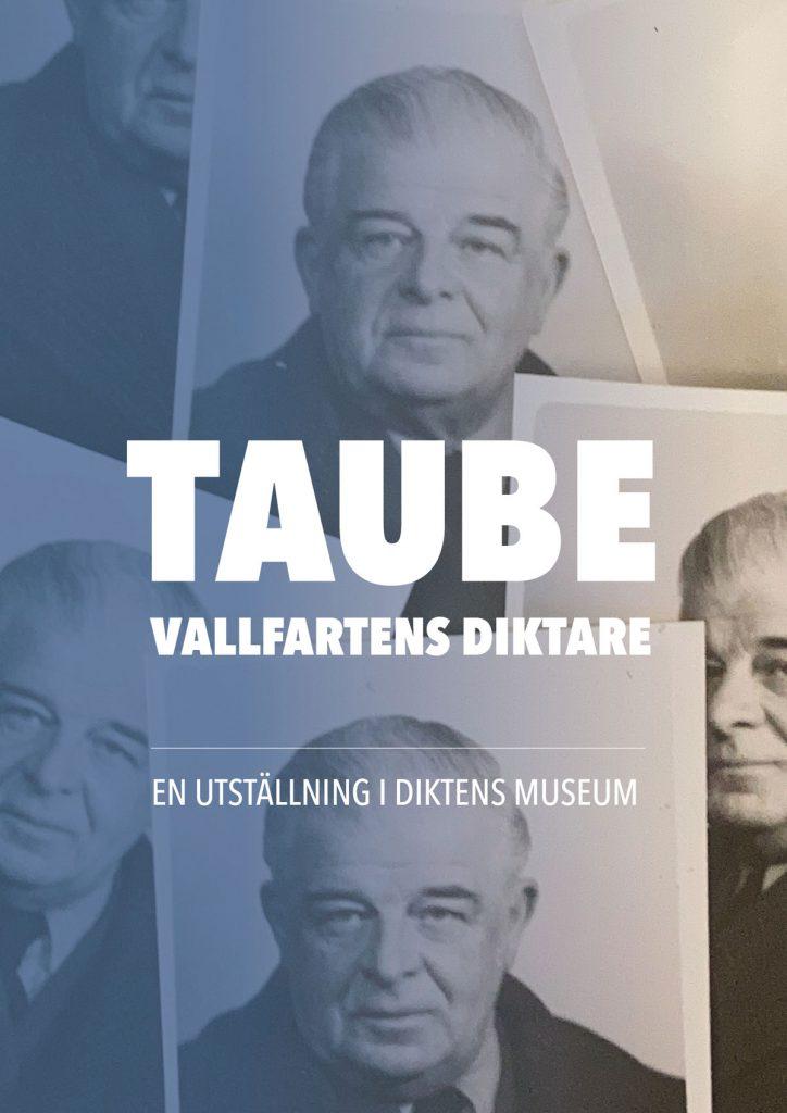 Utställningsaffisch med Taube