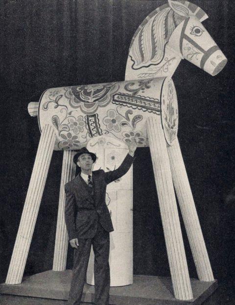Karl Gerhard och den trojanska hästen