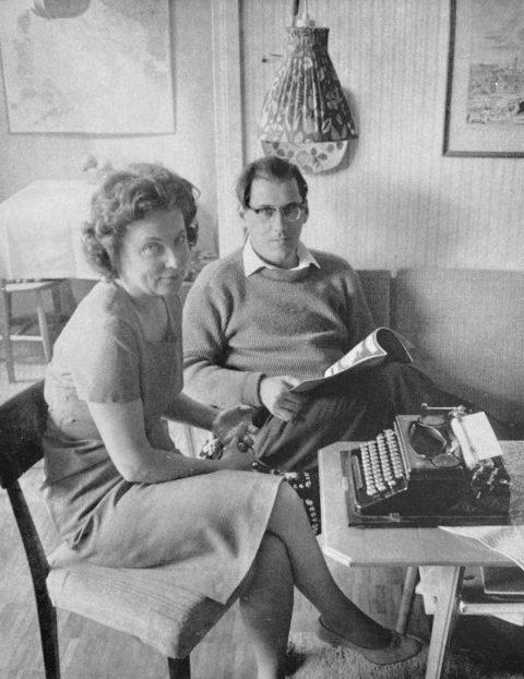 Ella Hillbäck och Östen Sjöstrand