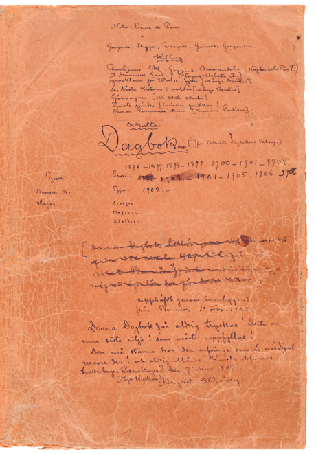 August Strindbergs Ockulta Dagboken | Litteraturbanken